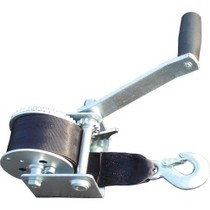 1966-1971 Jeep Jeepster_Commando American Gage 1,100 lb. Hand Winch