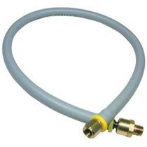 "1978-1990 Plymouth Horizon Amflo Lead-in Hose Assembly 3/8"" x 72"" Long 1/4"" NPT"