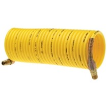 "1966-1970 Ford Falcon Amflo Standard Recoil Hose, 1/4"" x 25', Yellow, Display Pack"