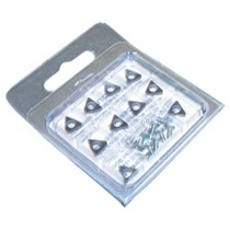 1973-1978 Mercury Colony_Park Ammco Negative Rake Carbide insert (10 Pack)