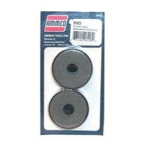 1997-2001 Cadillac Catera Ammco Non Asbestos Replacement Silencer Pads (2 Pack)