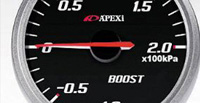 1993-1995 Audi 90 Apexi Gauges - E.L. II System Meters (Boost KPA Black)