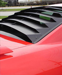 Ford Mustang Window Louvers At Andy S Auto Sport