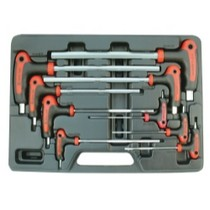 2008-9999 Smart Fortwo Astro Pneumatic 9 Piece SAE/Metric Hex Key Wrench Set