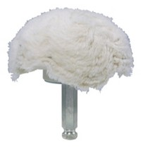 "1965-1968 Pontiac Catalina Astro Pneumatic 4"" 100% Cotton Mushroom Shaped Buff"