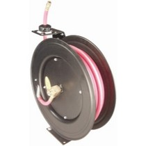 "1965-1968 Pontiac Catalina Astro Pneumatic 1/2"" x 50' Hose Reel - Automatic Rewind With Hose"