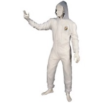 1965-1968 Mercury Colony_Park Astro Pneumatic X-Large Reusable Coverall With Velcro Wrists and Ankles