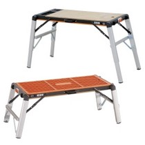1980-1985 Mazda B-Series Astro Pneumatic 2-in-1 Work Bench Table/Scaffold