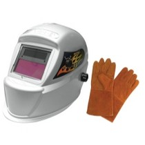 2009-9999 Toyota Venza Astro Pneumatic Deluxe Solar Auto-Darkening Welding Helmet With Free Pair of Gloves