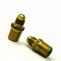 "1986-1992 Mazda RX7 ATP's Straight 3/8"" NPT to -4 AN"