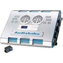 1989-1991 Ford Aerostar Audiobahn 1500W RMS Single-Channel Class D Monoblock Car Amplifier