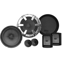 "2007-9999 Saturn Aura Audiobahn 6-1/2"" 2-Way ABC Series Component Car Speakers"