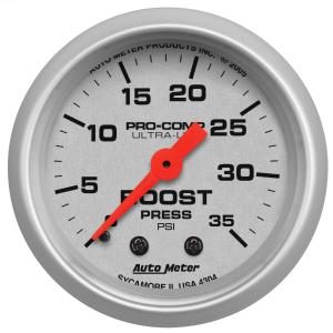 2008-9999 Smart Fortwo Auto Meter Gauges - Ultra-Lite Series Mechanical Gauge