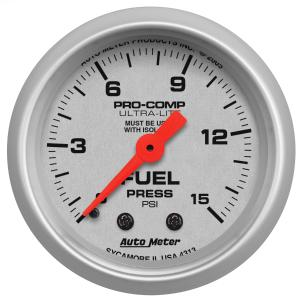 1997-2003 Pontiac Grand_Prix Auto Meter Gauges - Ultra-Lite Series Mechanical Gauge