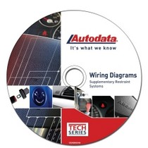 2004-2007 Ford Freestar Autodata 2008 Supplementary Restraint Systems Wiring Diagram DVD