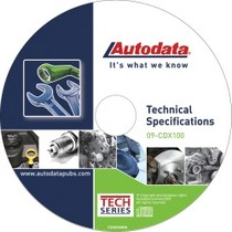 2008-9999 Pontiac G8 Autodata 2009 Technical Specifications CD