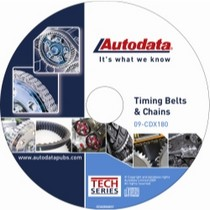 1961-1977 Alpine A110 Autodata 2009 Timing Belt and Chains CD