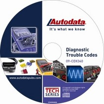 1998-2003 Toyota Sienna Autodata 2009 Diagnostic Trouble Code CD