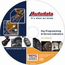 1997-2001 Cadillac Catera Autodata 2009 Key Programming and Service indicators CD