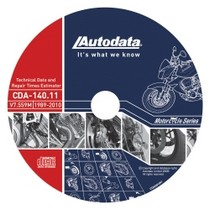 1961-1977 Alpine A110 Autodata 2010 Motorcycle Technical Data and Labor Guide CD