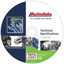 2008-9999 Pontiac G8 Autodata 2010 Technical Specifications CD