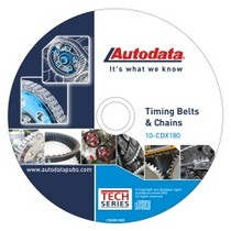 1997-2001 Cadillac Catera Autodata 2010 Timing Belt and Chains CD