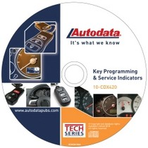 1998-2003 Toyota Sienna Autodata 2010 Key Programming and Service indicators CD