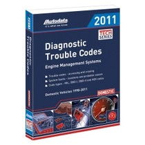 1961-1977 Alpine A110 Autodata 2011 Diagnostic Trouble Code Manual - Domestic