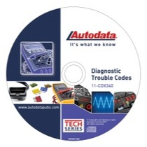 1998-2003 Toyota Sienna Autodata 2011 Diagnostic Trouble Codes CD