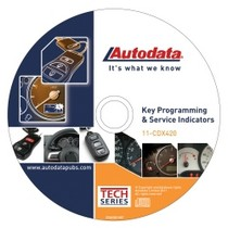 1998-2003 Toyota Sienna Autodata 2011 Key Programming and Service indicators CD