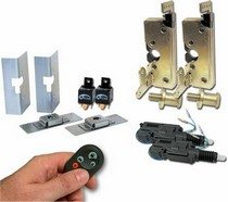 All Jeeps (Universal), All Vehicles (Universal) AutoLoc Small Power Bear Claw Door Latches w/ Remotes