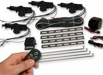 All Jeeps (Universal), All Vehicles (Universal) AutoLoc 4 Door Lock Kit w/ Alarm