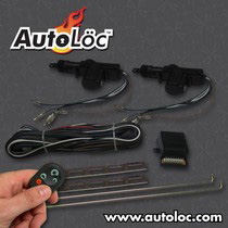 1966-1970 Ford Falcon AutoLoc 2 Door Remote Central Lock Kit