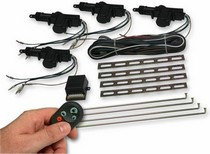 All Jeeps (Universal), All Vehicles (Universal) AutoLoc 4 Door Remote Central Lock Kit