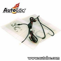 All Jeeps (Universal), All Vehicles (Universal) AutoLoc Deluxe Heated Seat System for 1 Sweat w/ Switch & Harness