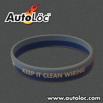 2002-2006 Mini Cooper AutoLoc Keep It Clean Silicone Wrist Band