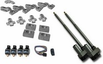 All Jeeps (Universal), All Vehicles (Universal) AutoLoc Automatic Split Hood Kit