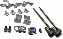 All Jeeps (Universal), All Vehicles (Universal) AutoLoc Automatic Split Hood Kit w/ Remote