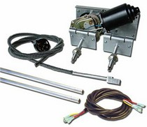 1991-1996 Saturn Sc AutoLoc Heavy Duty Power Windshield Wiper Kit w/ Switch & Harness