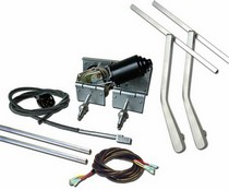 1960-1966 GMC Suburban AutoLoc Heavy Duty Power Windshield Wiper Kit w/ Bottom Mount Wiper Arms