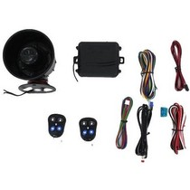 All Jeeps (Universal), All Vehicles (Universal) Autopage 3 Channel Alarm With On-Board Shock Sensor