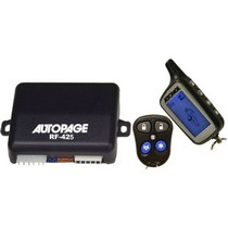 All Jeeps (Universal), All Vehicles (Universal) Autopage 4-Channel Vehicle Alarm Security System With 2-Way AM/AM LCD Transmitter