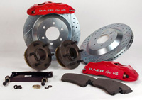 1967-1969 Chevrolet Camaro Baer Brake Kit - Extreme PLUS Front