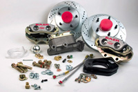 1967-1969 Chevrolet Camaro Baer Brake Kit - Serious Street Front
