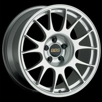 09-09 TL, 03-08 Z4 ROADSTER, 96-02 Z3 ROADSTER, 05-09 RL BBS Forged Aluminum Monobloc RE Diamond Silver
