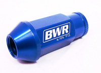 1991-1996 Saturn Sc Blackworks Racing Lug Nut - 12 x 1.5 - Gen 2 (Blue)