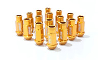 2003-9999 Honda Pilot Blackworks Racing Lug Nut - 12 x 1.5 - Gen 2 (Gold)