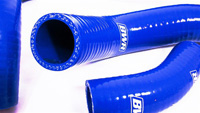02-05 Honda Civic Si Blackworks Racing Radiator Hose - Silicone, Kit (Blue)