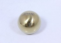 1968-1971 International_Harvester Scout Blackworks Racing Shift Knob - Ball Type, 5 Speed, 10x1.5 (Gold)