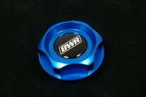 All Acura, All Honda, All Nissan Blackworks Racing Oil Cap (Blue)